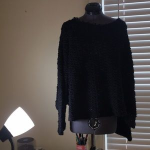Free People Everlasting Black Sweater